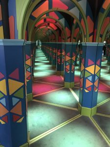 Mirror Maze at The Grand at Moon Palace in Cancun