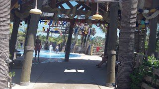 Little kids splash pad at Castaway Cay