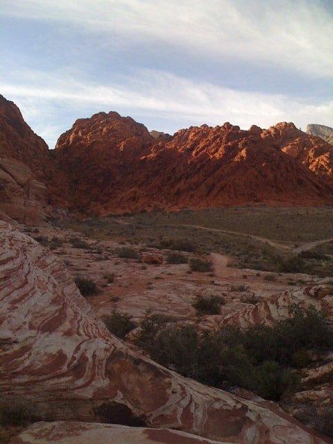 Calico Basin near the Red Rocks