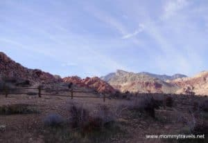 Calico Basin near Las Vegas