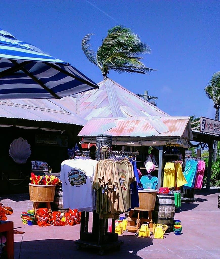Castaway Cay Gift shop