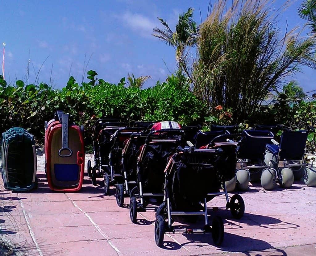 Castaway Cay Strollers