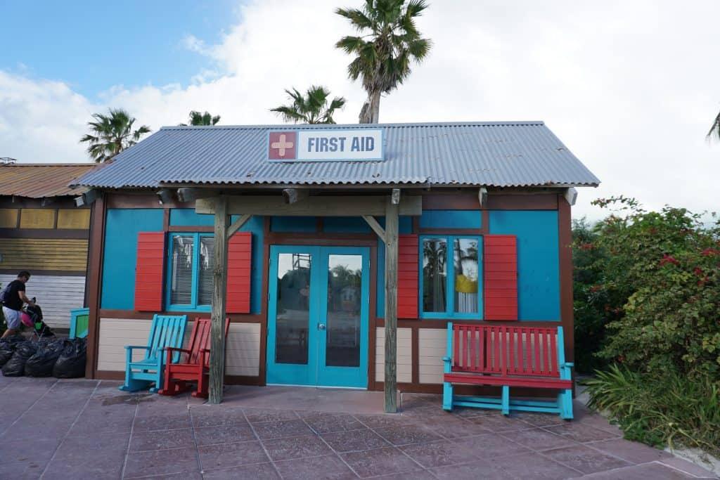 Castaway Cay First aid