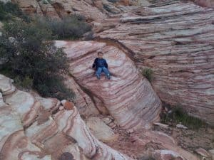 Hiking Calico Basin with Kids