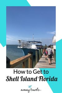 How to get to Shell Island
