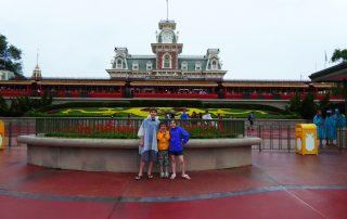 Disney World on a Rainy Day