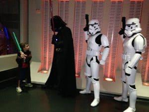 Jedi Training indoors