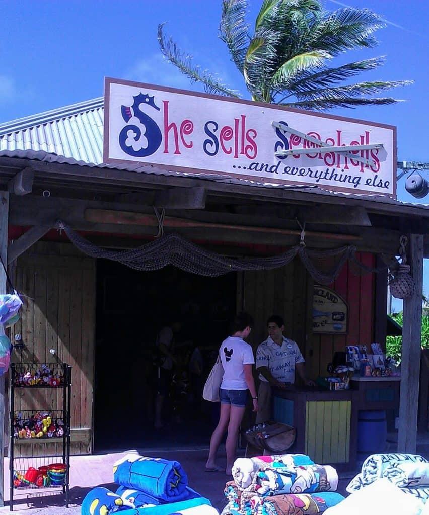 She Sells Castaway Cay