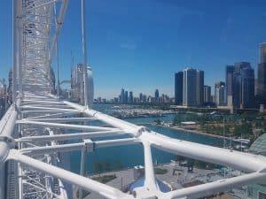 Centennial Wheel the Ferris wheel at Navy Pier in Chicago