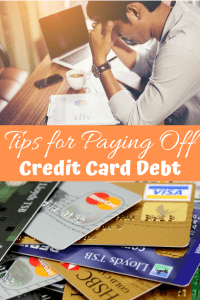 Tips For Paying off Credit Card Debt