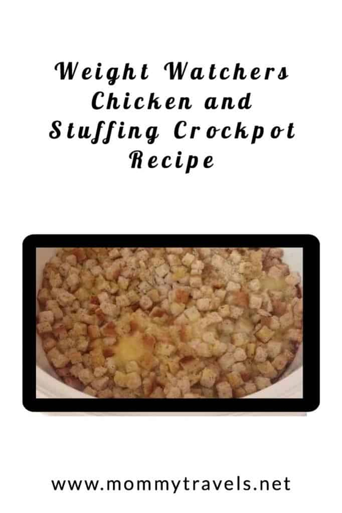 Weight Watchers Chicken and stuffings