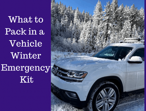 10 Things To Include In A Vehicle Winter Emergency Kit