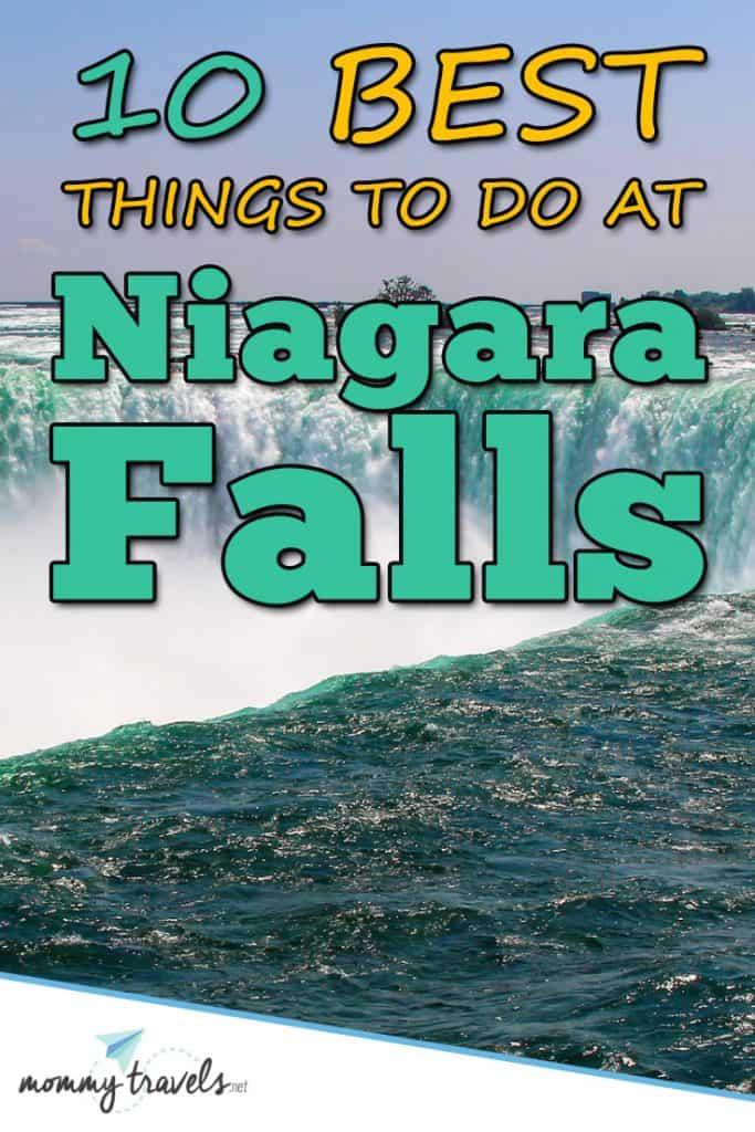 10 Best things to do at Niagara Falls