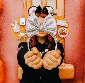 Mickey ears that hold Disney pins