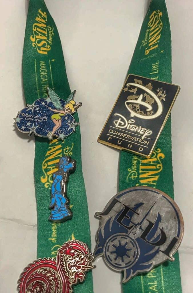 Special edition Disney pins