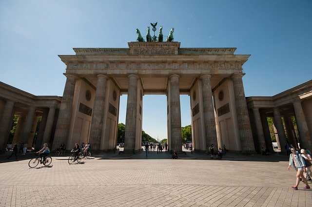 Brandenburg Gate part of the Berlin Wall