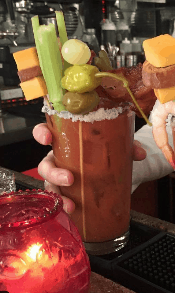 Cafe Nell Bloody Mary