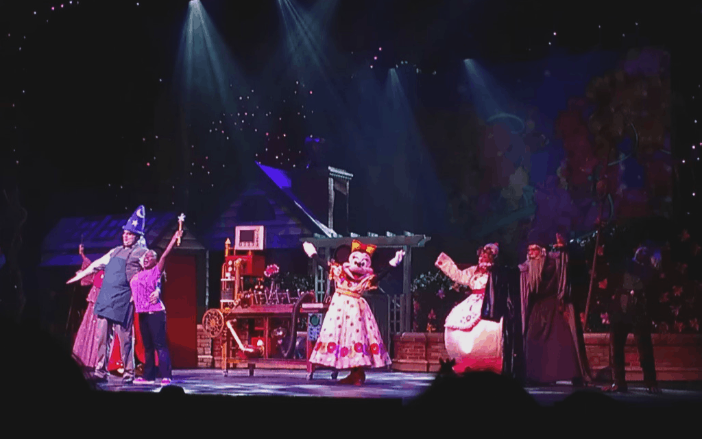Disney Cruise live shows