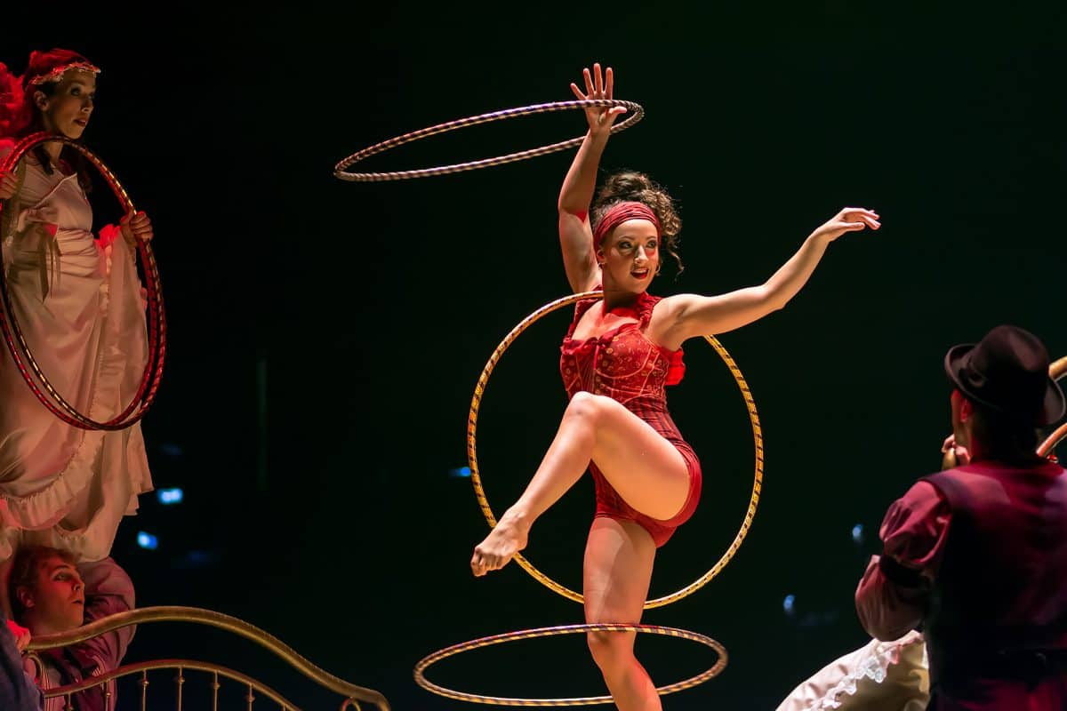 Corteo Hula Hoop performance