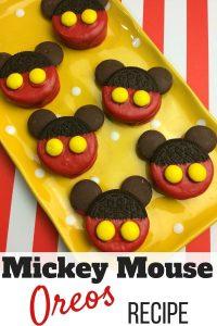 Mickey Mouse Oreos Recipe