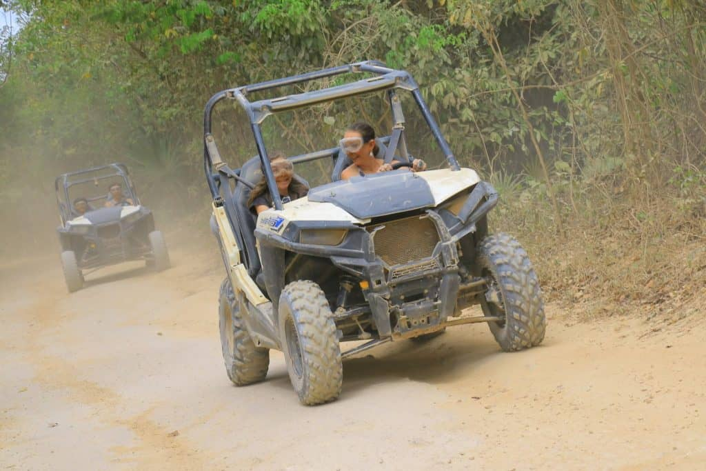 Off roading at Selvatica