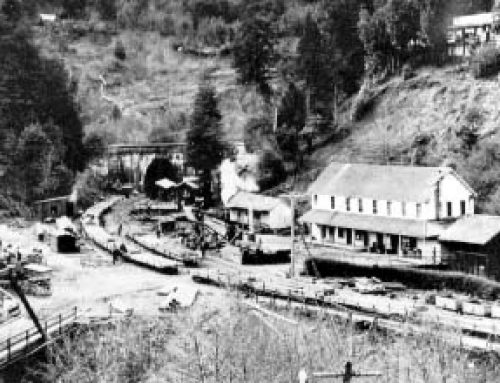 Ghost Towns of the Santa Cruz Mountains of California