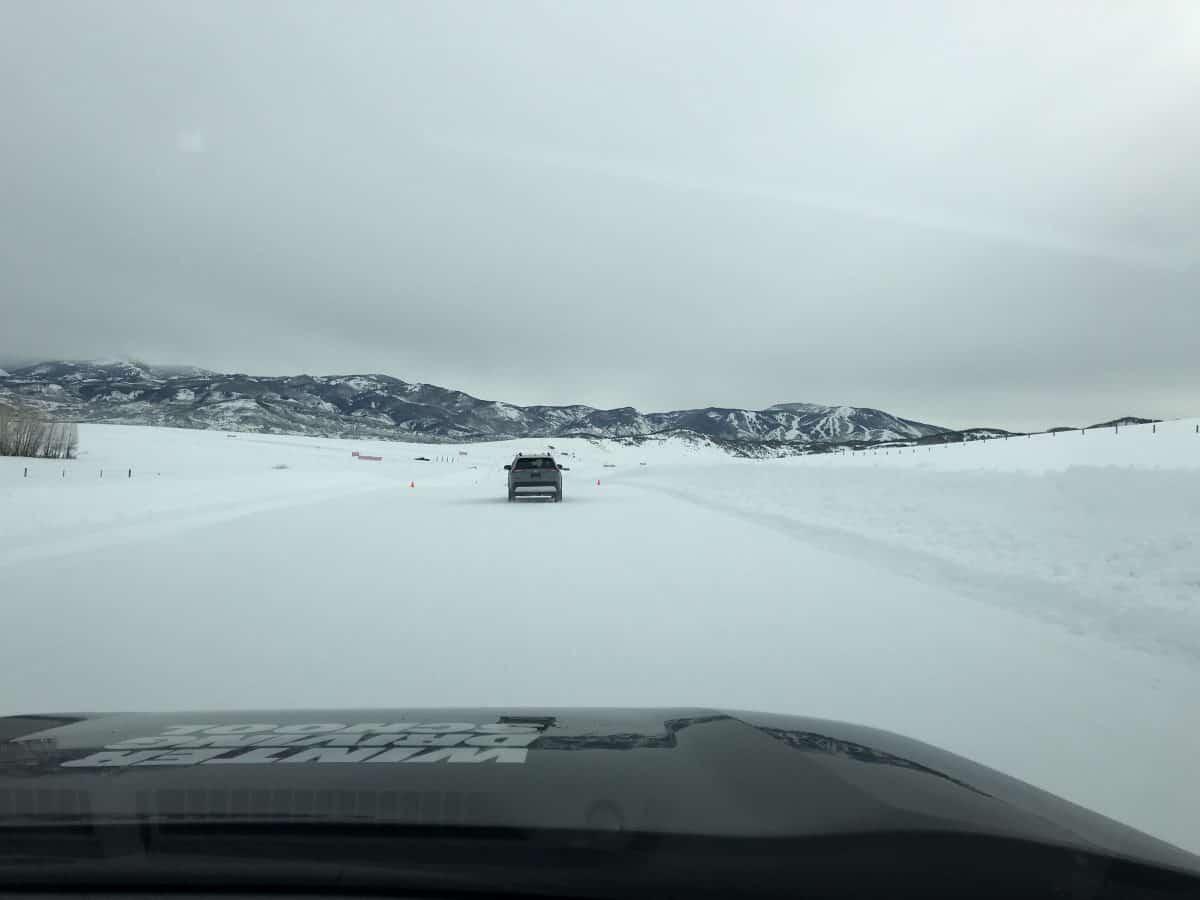 Bridgestone Winter Driving School