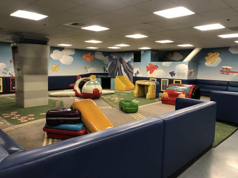 Seattle airport children's area