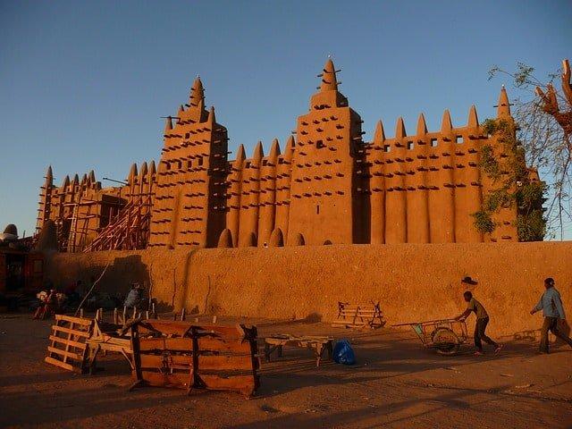 mosque in Mali
