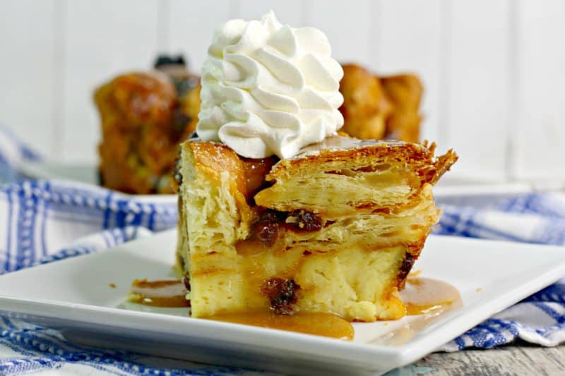 Irish Cossant Bread Pudding