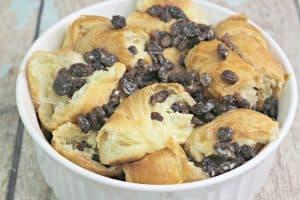 Irish Croissant Bread Pudding