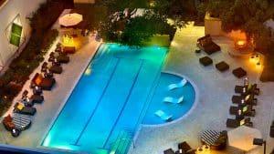 The pool at Marriott Quorum