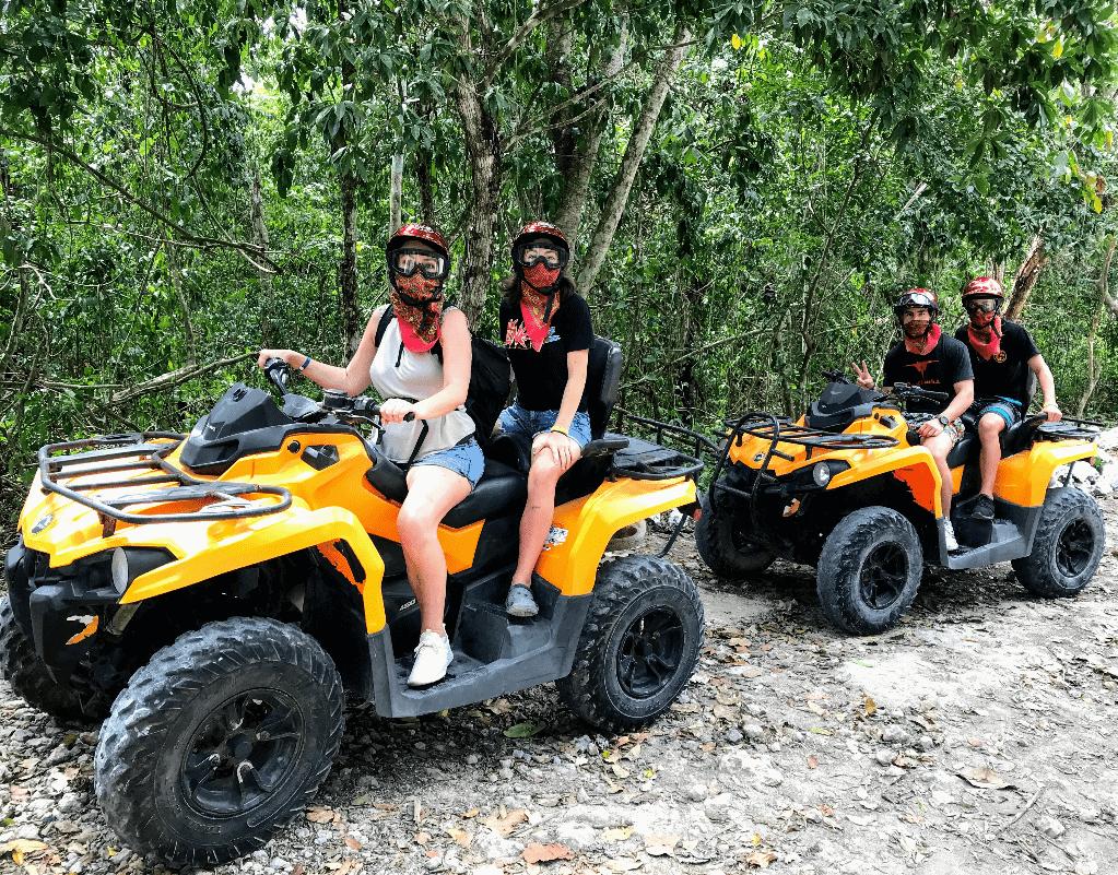 ATV tour with Wild Tours an Playa Mia