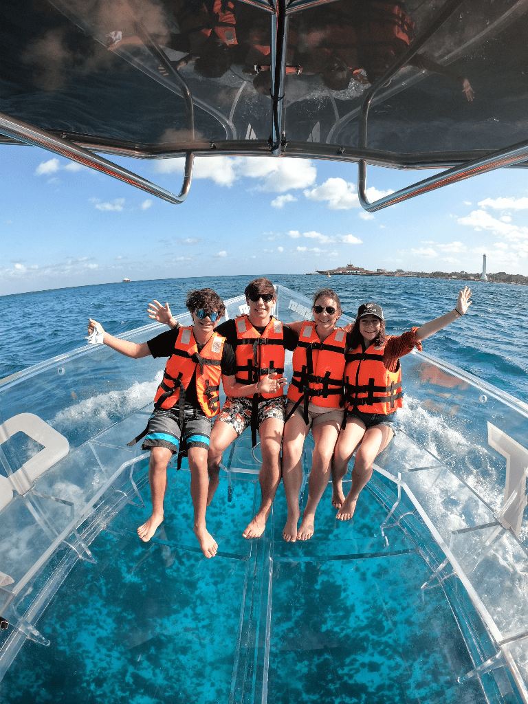 Clear Boat Tour with Enva Tours
