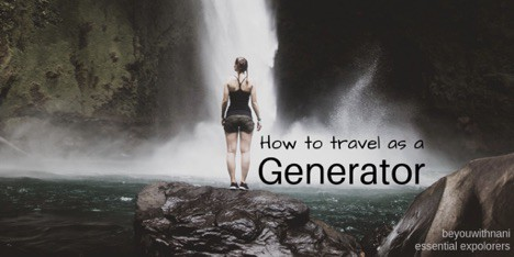 How to travel as a generator