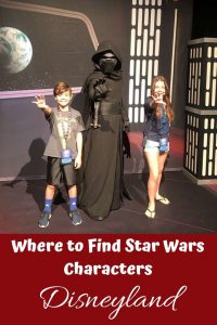 Where to Find Star Wars Characters at Disneyland