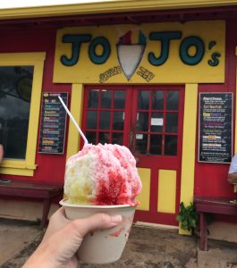 Jojo's shaved ice