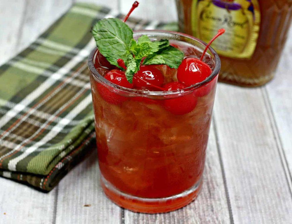 Bourbon Cherry Coke Cocktail
