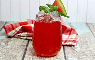 Watermelon hammer - a watermelon cocktail