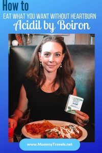 Treat heartburn naturally with Acidil, a homeopathic heartburn reliever by Boiron