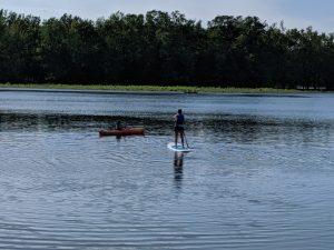 Paddleboarding or Kayaking atAventure Mille-Îles