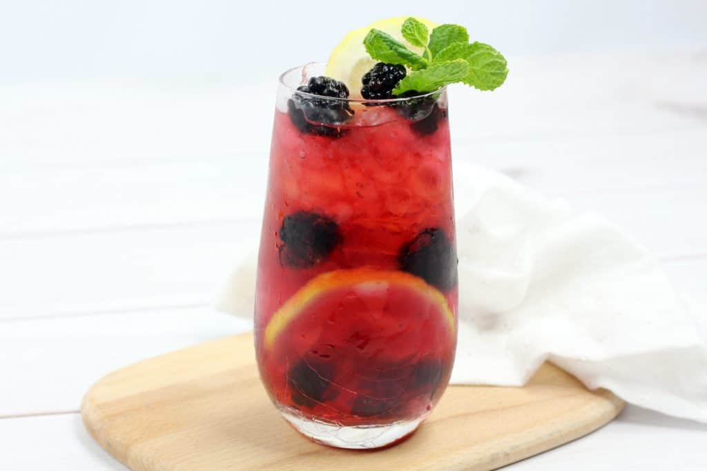 Blackberry Lemon Gin & Tonic Recipe