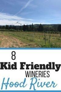 8 Kid Friendly Wineries in Hood River, Oregon