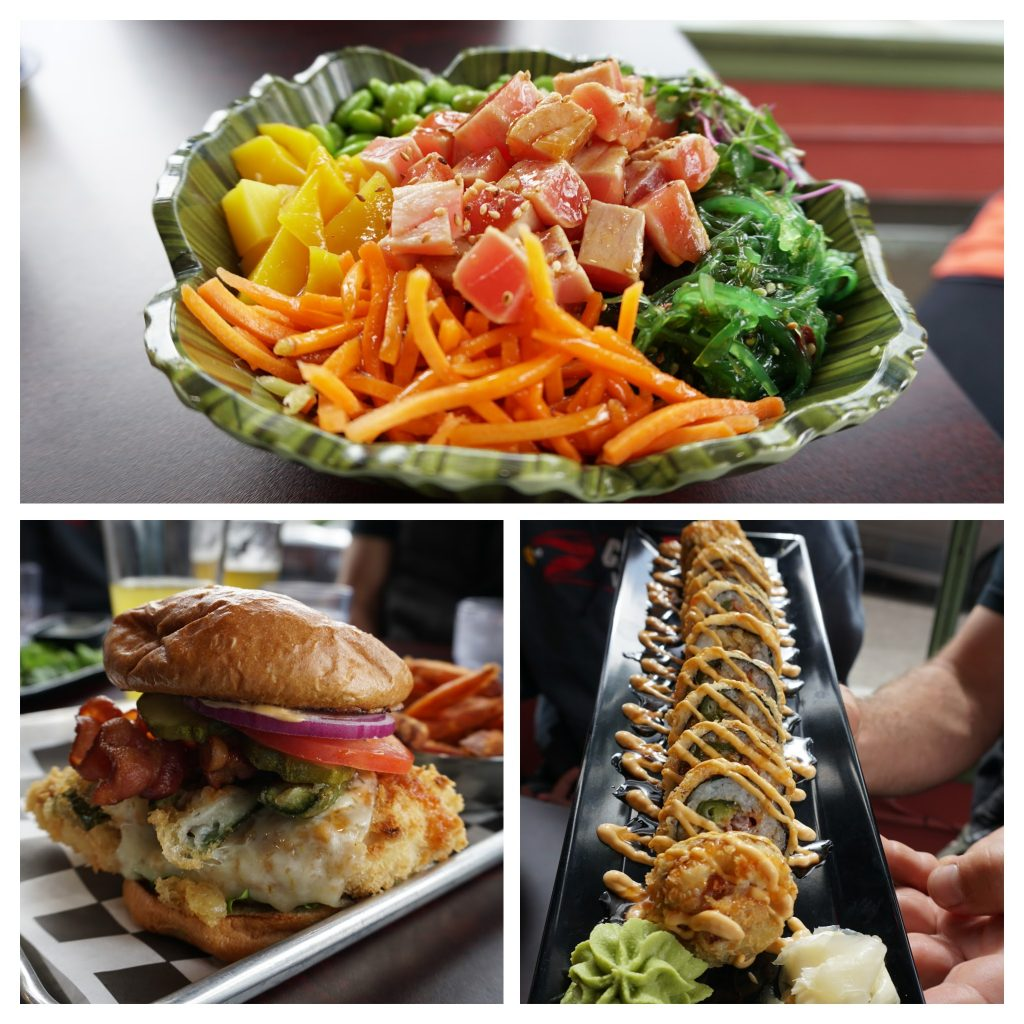 Wicked Sushi, Burgers, Bowls