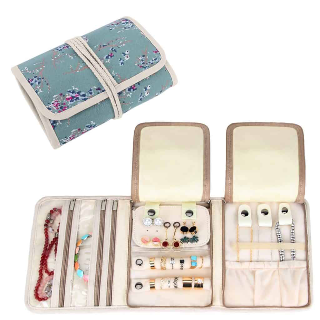 Travel Jewelry Roll