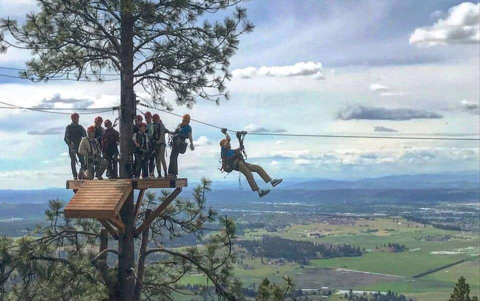MicaMoon Spokane zipline
