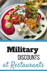 Military Discounts at Restaurants