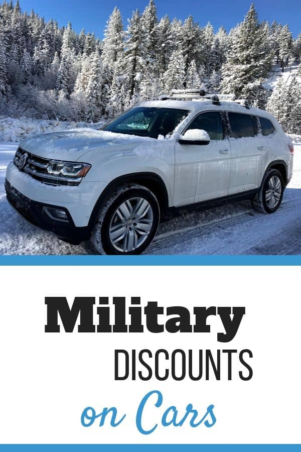Military Discounts on Cars