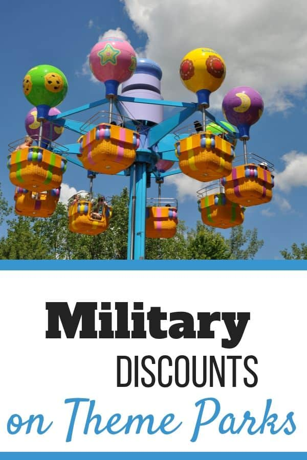 Military discounts on Theme Parks