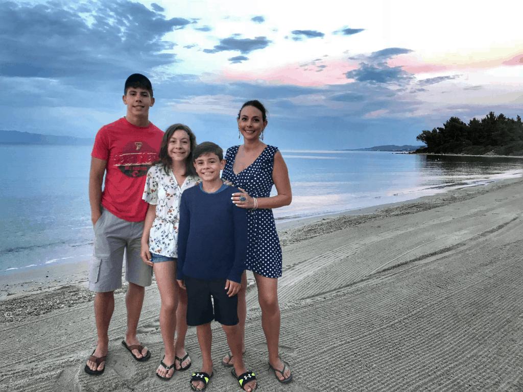 Alexander the Great Beach in Kassandra